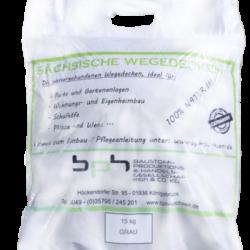 Sächsische Wegedecken Grau im 15kg Sack