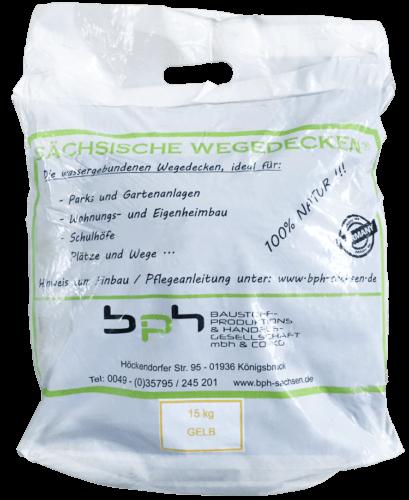 Sächsische Wegedecken Gelb Sack 15kg