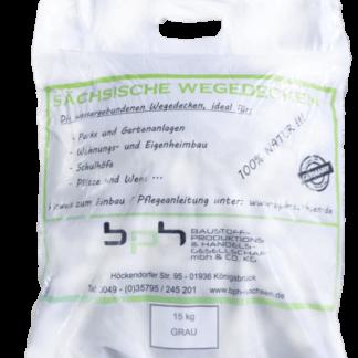 Sächsische Wegedecken Grau Sack 15kg