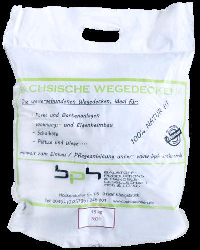Sächsische Wegedecken Rot Sack 15kg